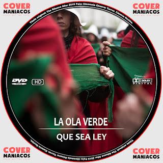 GALLETA LA OLA VERDE-QUE SEA LEY 2019[COVER DVD]