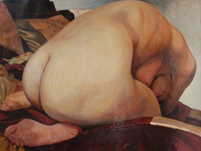 Грузинский художник. Zurab Janiashvili