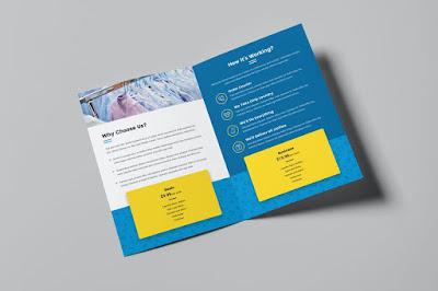 contoh brosur promosi laundry