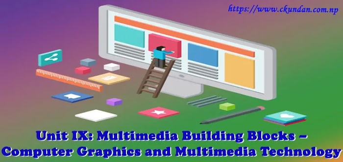 Unit IX: Multimedia Building Blocks – Computer Graphics and Multimedia Technology