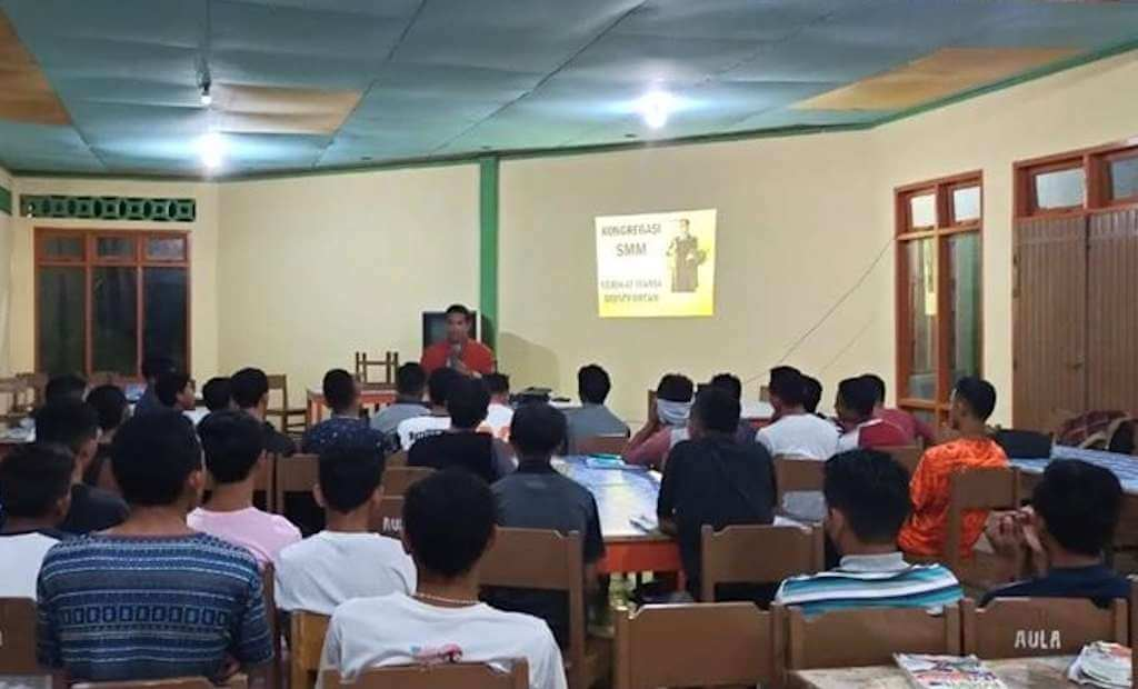 Serikat Maria Montfortan (SMM) Tabur Benih Panggilan di SMAK St. Klaus Kuwu, Ruteng