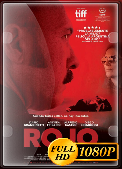 Pelicula Rojo (2018) FULL HD 1080P LATINO Online imagen