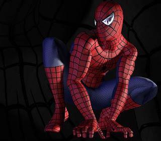 Gambar Animasi Spiderman Keren Hd