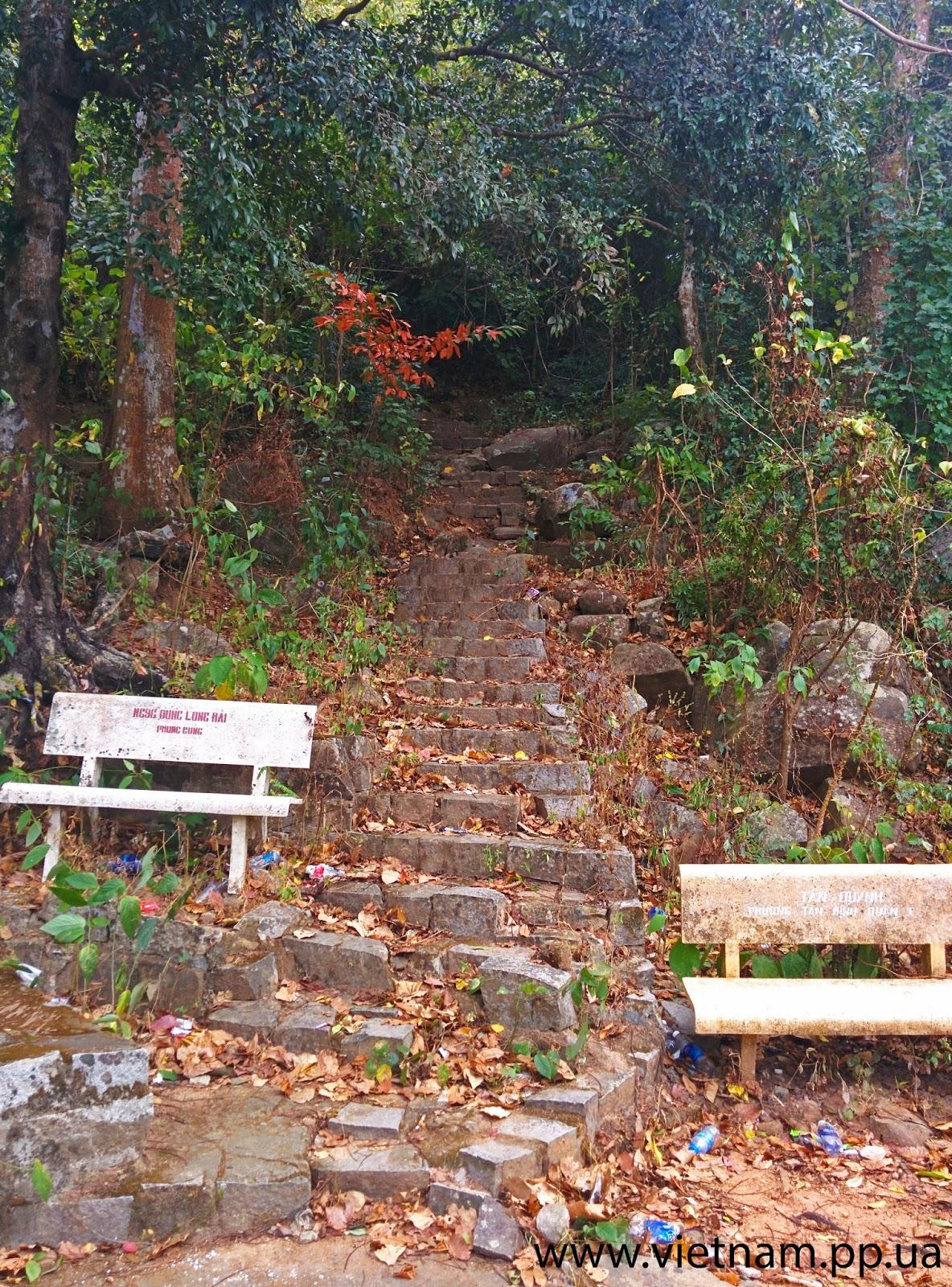 вход для пешего восхождения на гору Таку