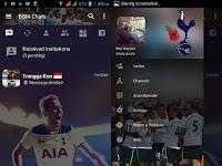 BBM Mod Bola Tottenham Hotspur F.C Theme V3.2.0.6 Apk