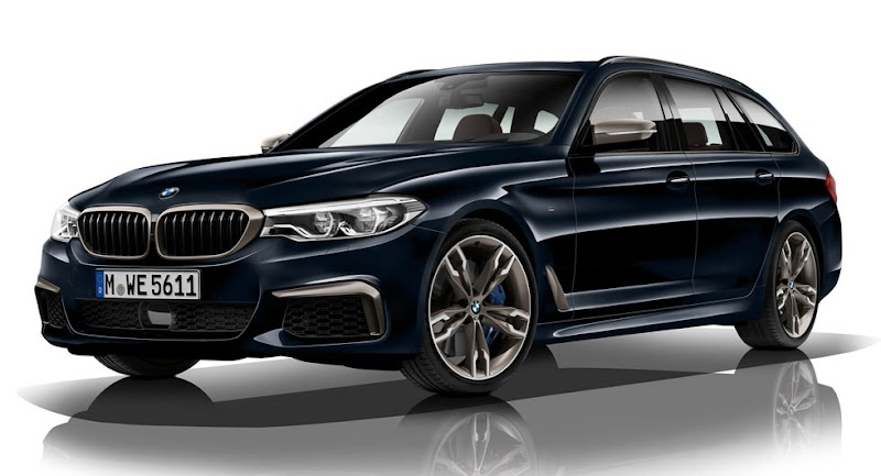 2018 BMW M550d xDrive Has Four, Yes Four Turbos And 400 Horses. And It's A Diesel