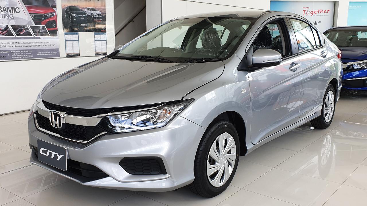 Car show: ตารางผ่อน Honda City 2019 1.5 S CVT ราคา 589,000 บาท