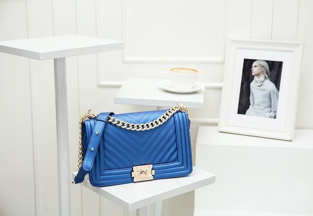 Jims Honey Baby Bag Blue