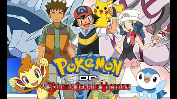 Pokemon Season 13 Sinnoh League Victors Images In 720P