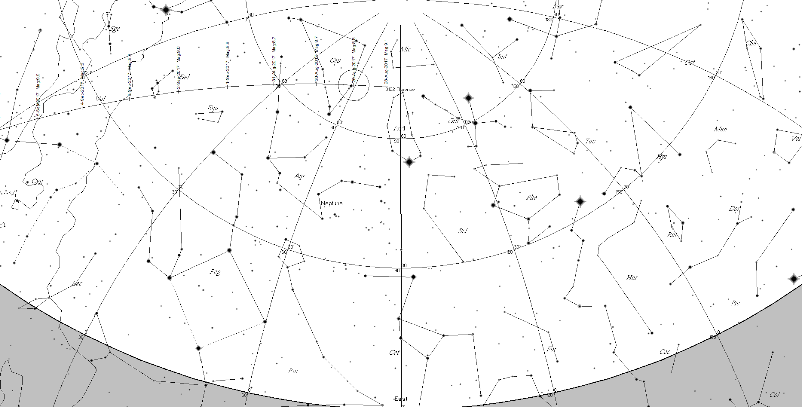 Astroblog: Seeing Asteroid 3122 Florence tonight (3