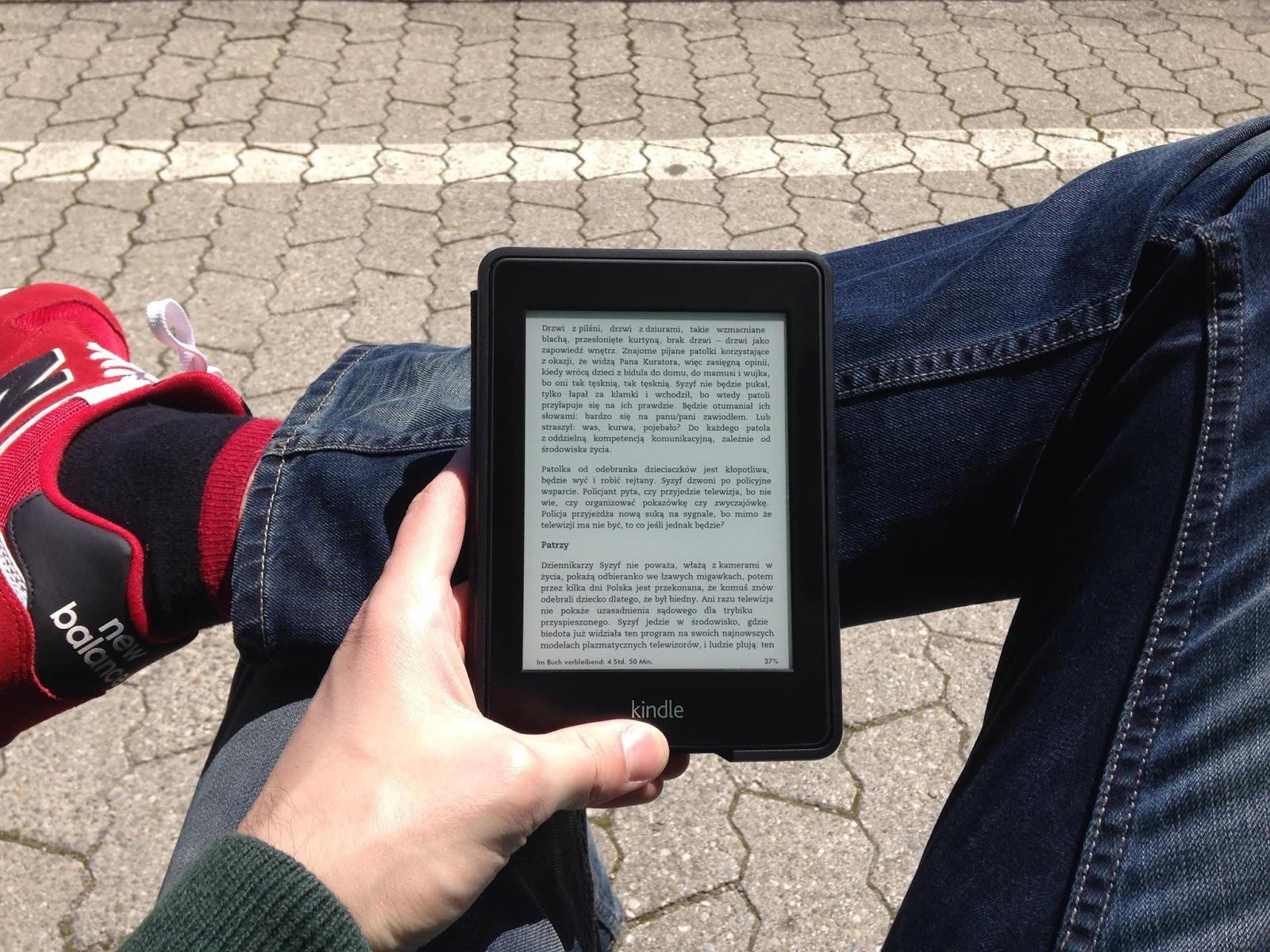 Czytnik Kindle #DobryZakup