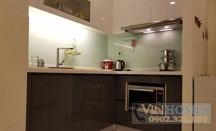 cho thuê căn hộ Vinhomes tại tháp P6 - khu vực bếp