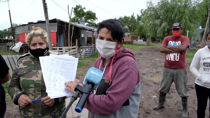 Desesperante pedido en Barrio La Tablita por el Agua Potable