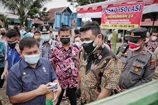Wali Kota Medan Apresiasi Konsep Isolasi di Lingkungan 23 Kelurahan Mangga