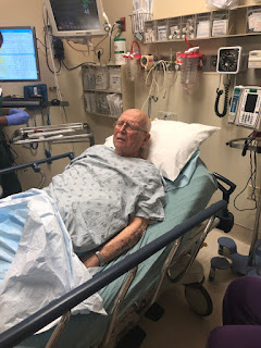 Dad in Hospital