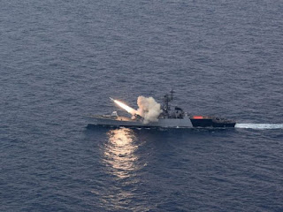 Indian Navy test fired Anti- Ship Missile