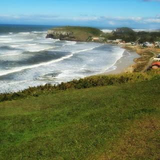 Praia da Cal, em Torres. Fica entre o Morro do Farol e o Morro das Furnas.