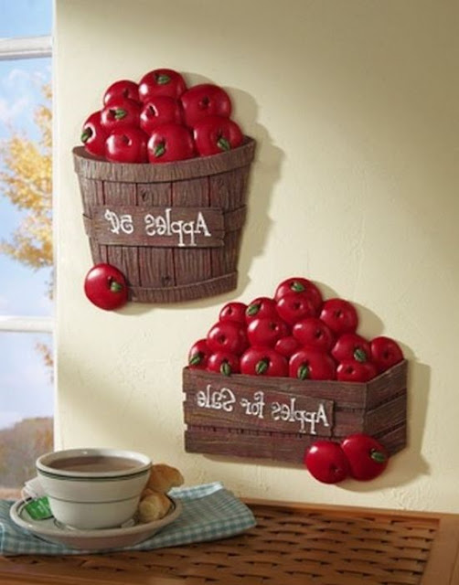 Apple Decorations For The Kitchen