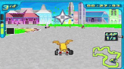Digimon Racing screenshot 1
