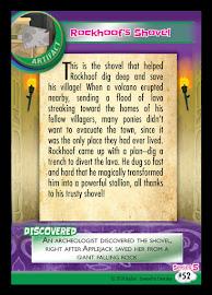 My Little Pony Rockhoof's Shovel Series 5 Trading Card