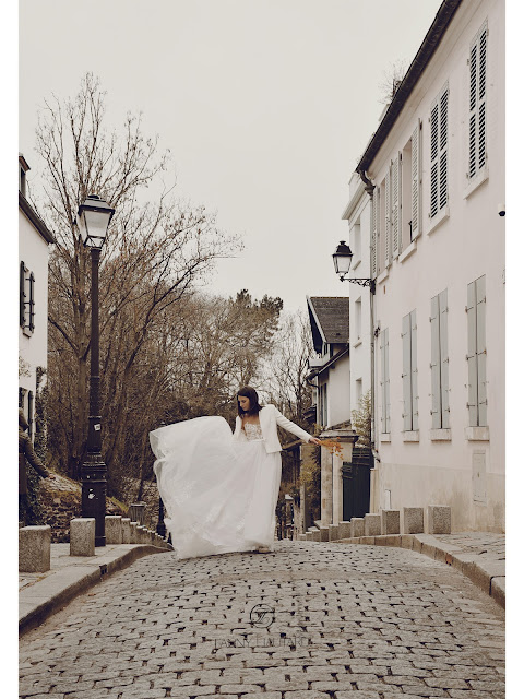 Robe et tailleur de mariée sur mesure @ FANNY LIAUTARD