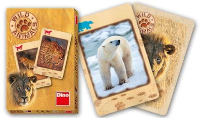joc de cărți cu animale sălbatice