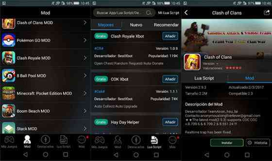 Cara Cheat game android