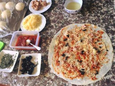 فطائر البيتزا إثنين في واحد