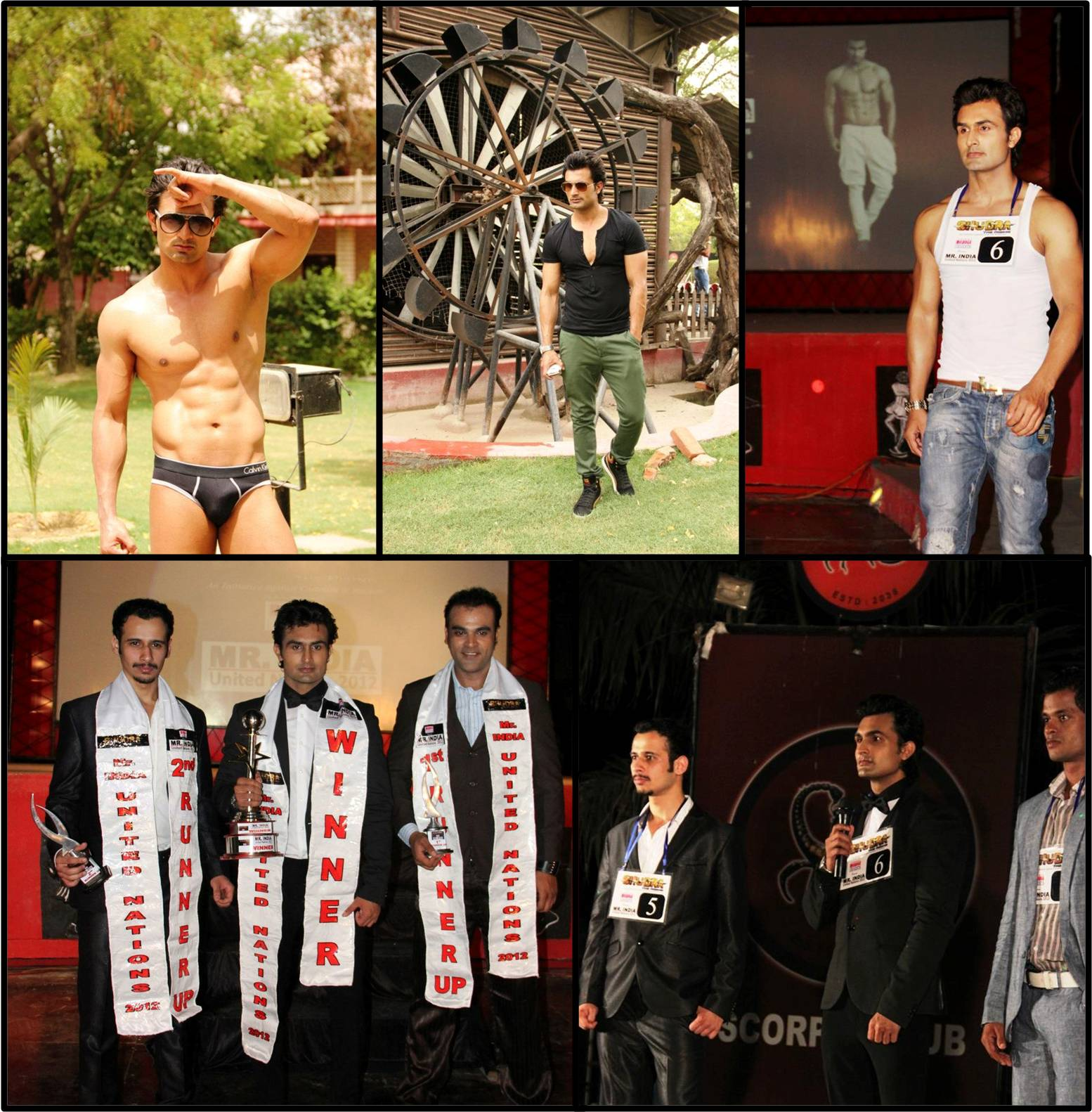 Rahul Vyas, Mr India United Nations 2012