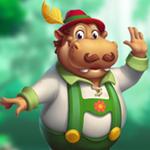 PalaniGames Joyful Hippopotamus Escape