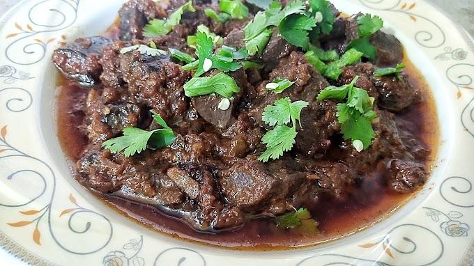 Kaleji Masala Fry Recipe - Beef Liver Recipe