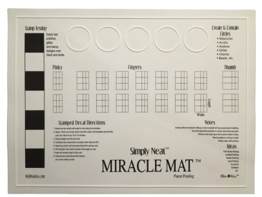 Lacquer Lockdown Stamping Mat Head To Head Which Mat Is The Right Mat For You