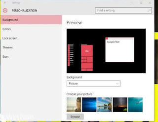 Cara Menampilkan Start Menu Secara Full Screen di Windows 10