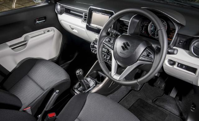2018 Suzuki Ignis Interior