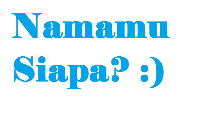Tulisan Kaligrafi Nama Sendiri Cikimm Com