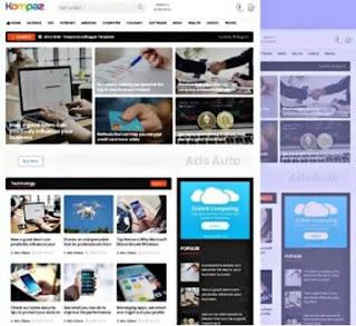 Asalpas Pro Premium Blogger Template Download Free