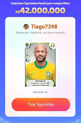 figurinhas premiadas do neymar jr