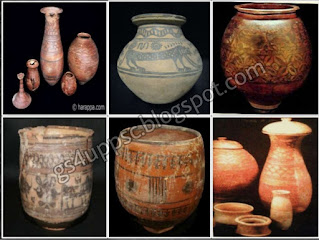 pots images of harappan civilzation