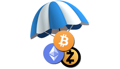 air drop ve ücretsiz kripto para ile para kazan