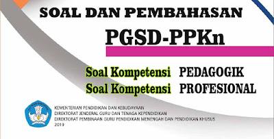 Soal UP PPG PGSD PPKn Lengkap Pembahasan