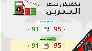 أسعار البنزين في السعودية اليوم