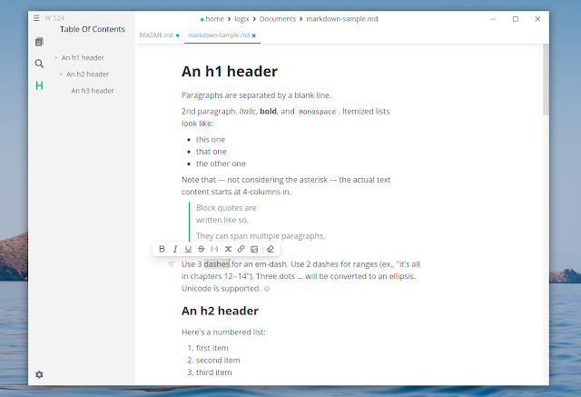 Mark Text Markdown editor