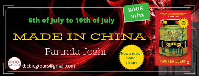 Made In China By Parinda Joshi Best book review blogger