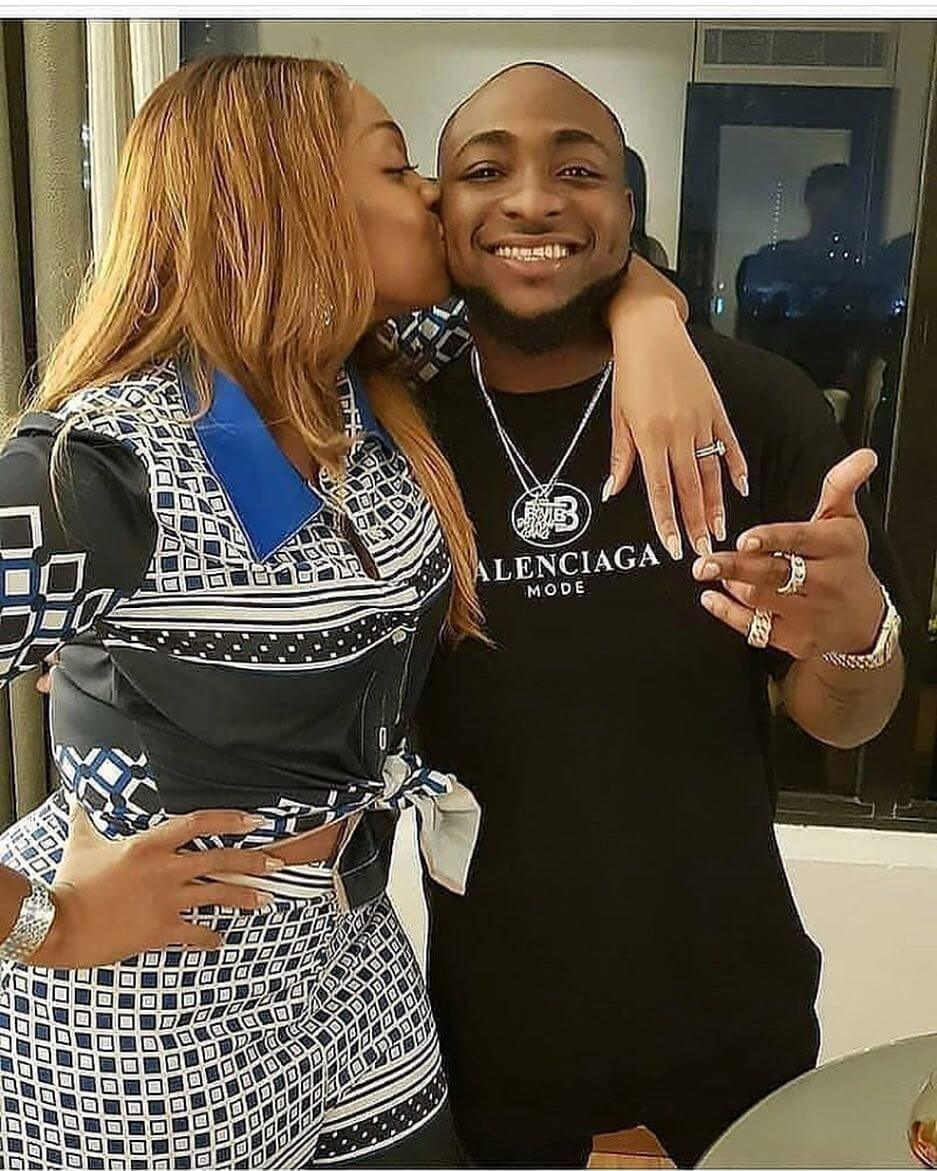 "My wife wears the latest bag"" — Davido shows off his wife's"