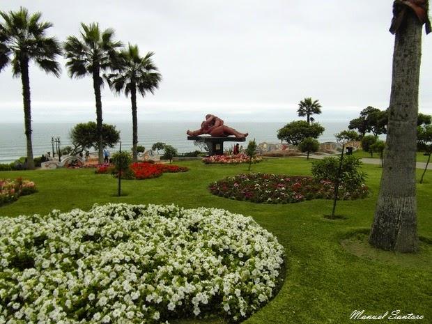 Lima, Miraflores, Parque del Amor