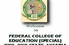 FCE (Special) Oyo NCE (Full-Time) Admission List - 2018/2019