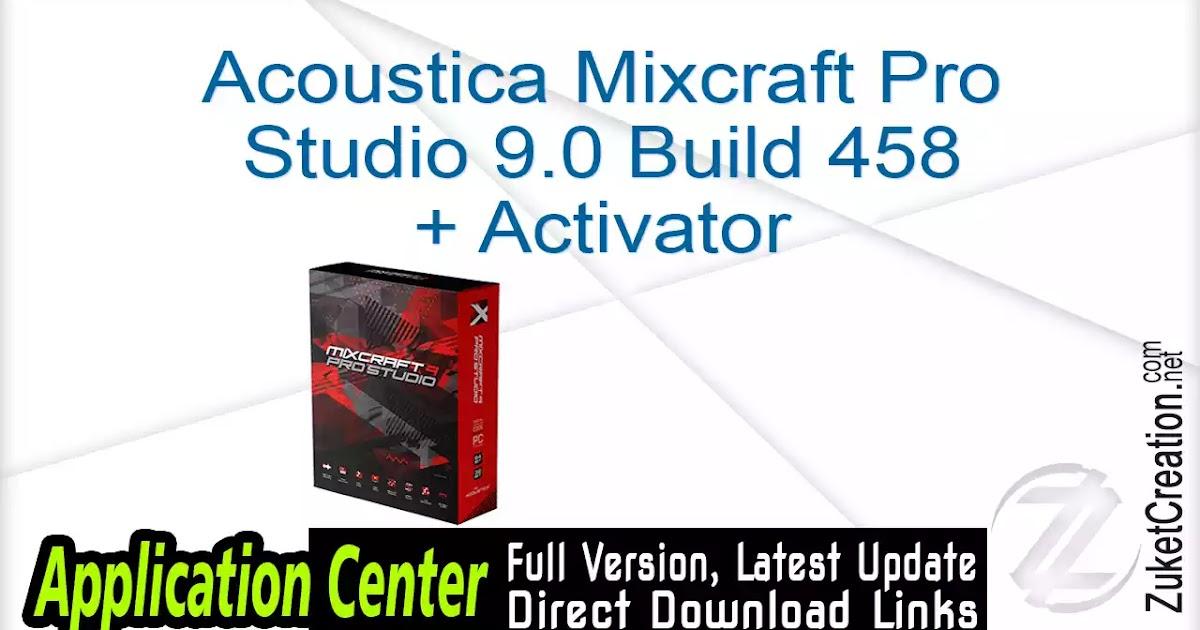 Mixcraft Pro Studio Crack 9.0 Build …