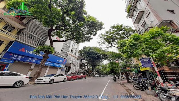 Bán nhà mặt phố Hàn Thuyên giá rẻ
