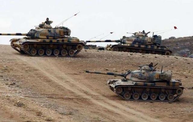 Bloomberg: Ξεκίνησε η τουρκική εισβολή στη Συρία
