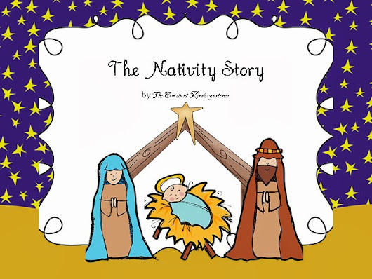 The first Christmas - Nativity story for children in Pre-K and Kindergarten!